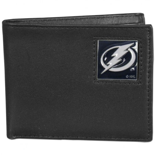 Tampa Bay Lightning Leather Bi-fold Wallet