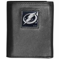Tampa Bay Lightning Leather Tri-fold Wallet