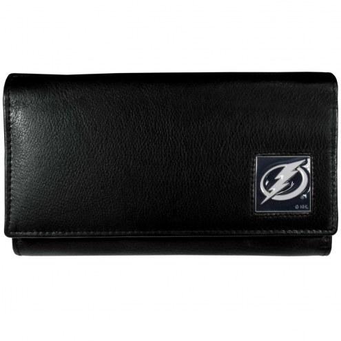 Tampa Bay Lightning Leather Women's Wallet