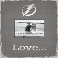 Tampa Bay Lightning Love Picture Frame