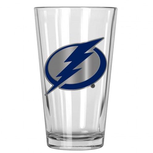 Tampa Bay Lightning NHL Pint Glass - Set of 2