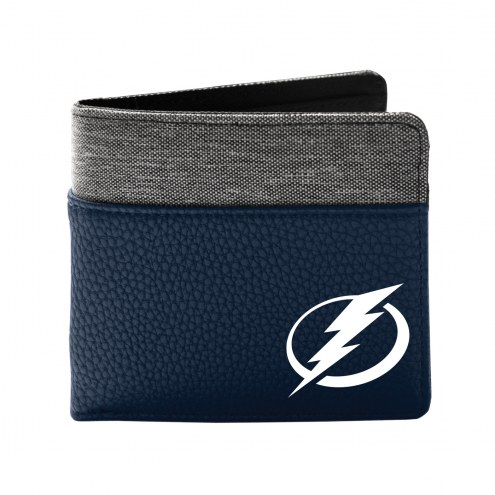 Tampa Bay Lightning Pebble Bi-Fold Wallet