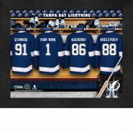 Tampa Bay Lightning Personalized 11 x 14 Framed Photograph