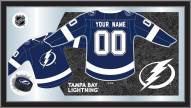 Tampa Bay Lightning Personalized Jersey Mirror
