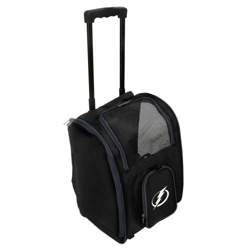Tampa Bay Lightning Premium Pet Carrier with Wheels