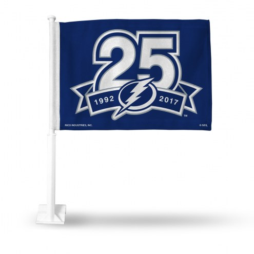 Tampa Bay Lightning Rico Car Flag