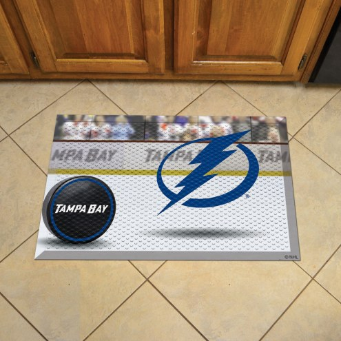 Tampa Bay Lightning Scraper Door Mat