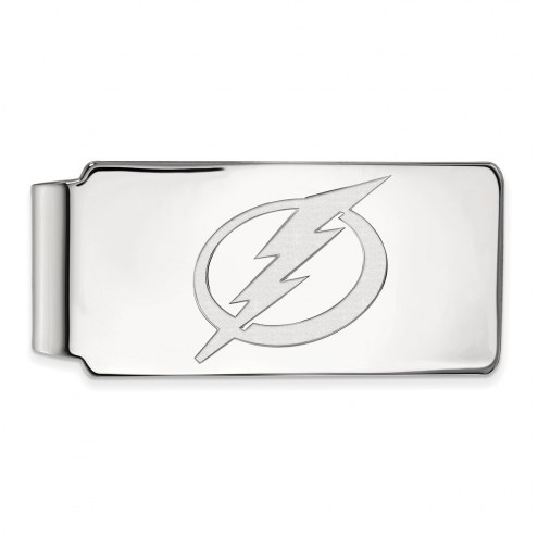 Tampa Bay Lightning Sterling Silver Money Clip