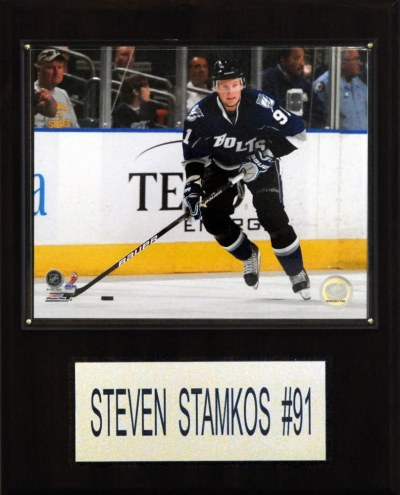 "Tampa Bay Lightning Steven Stamkos 12"" x 15"" Player Plaque"