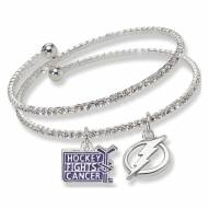 Tampa Bay Lightning Support HFC Crystal Bracelet