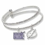 Tampa Bay Lightning Support HFC Crystal Bracelet