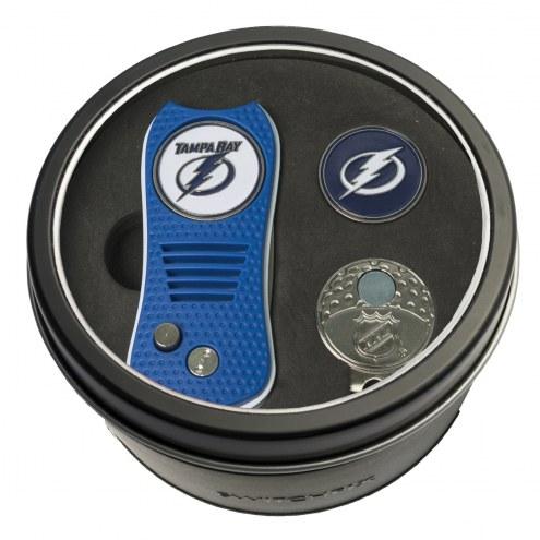 Tampa Bay Lightning Switchfix Golf Divot Tool, Hat Clip, & Ball Marker