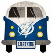 Tampa Bay Lightning Team Bus Sign