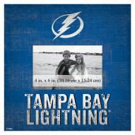 "Tampa Bay Lightning Team Name 10"" x 10"" Picture Frame"