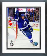 Tampa Bay Lightning Tyler Johnson 2014-15 Playoff Action Framed Photo