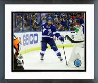 Tampa Bay Lightning Tyler Johnson Goal 2015 Stanley Cup Framed Photo