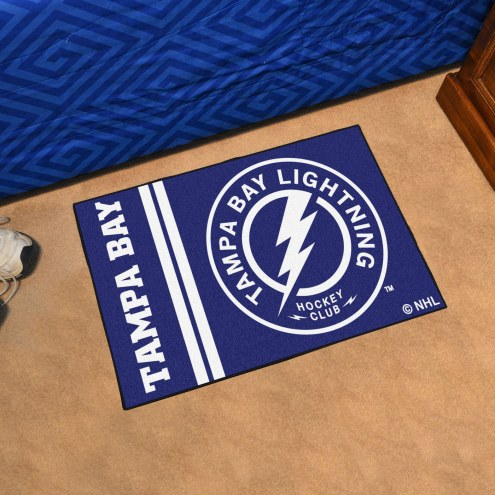 Tampa Bay Lightning Uniform Inspired Starter Rug