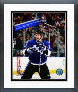 Tampa Bay Lightning Victor Hedman 1st NHL Goal Framed Photo