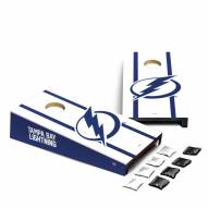 Tampa Bay Lightning Mini Cornhole Set