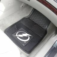 Tampa Bay Lightning Vinyl 2-Piece Car Floor Mats