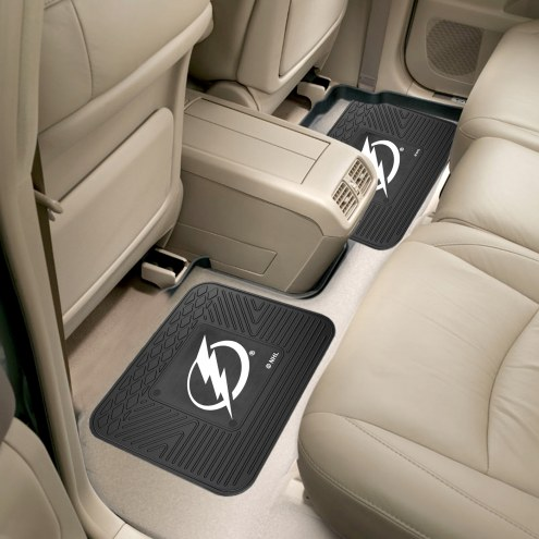 Tampa Bay Lightning Vinyl 2-Piece Rear Floor Mats
