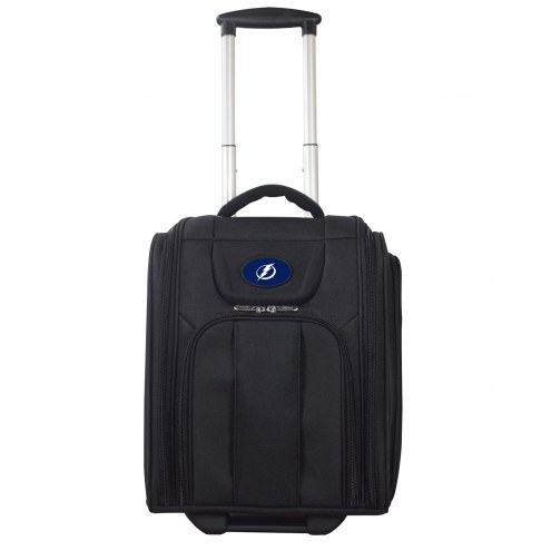 Tampa Bay Lightning Wheeled Business Tote Laptop Bag
