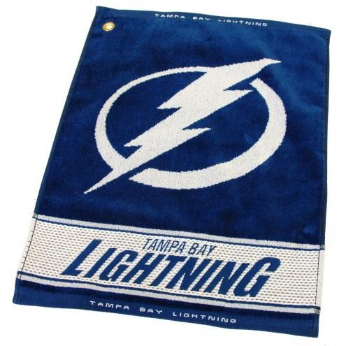 Tampa Bay Lightning Woven Golf Towel