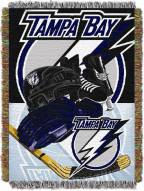 Tampa Bay Lightning Woven Tapestry Throw Blanket