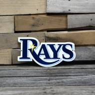 "Tampa Bay Rays 12"" Steel Logo Sign"