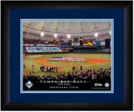 Tampa Bay Rays 13 x 16 Personalized Framed Stadium Print