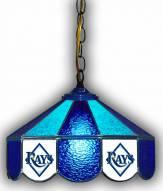 "Tampa Bay Rays 14"" Glass Pub Lamp"