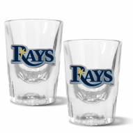 Tampa Bay Rays 2 oz. Prism Shot Glass Set