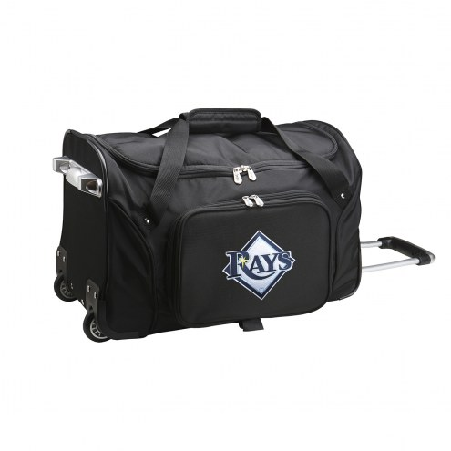 "Tampa Bay Rays 22"" Rolling Duffle Bag"