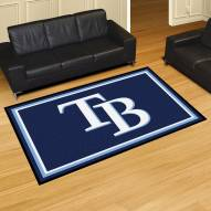 Tampa Bay Rays 5' x 8' Area Rug