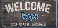 """Tampa Bay Rays 6"""" x 12"""" Welcome Sign"""