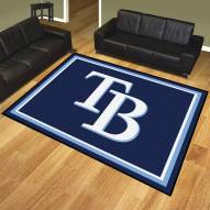 Tampa Bay Rays 8' x 10' Area Rug