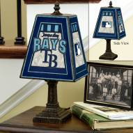 Tampa Bay Rays Art Glass Table Lamp