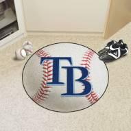 Tampa Bay Rays Baseball Rug