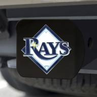 Tampa Bay Rays Black Color Hitch Cover