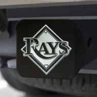 Tampa Bay Rays Black Matte Hitch Cover