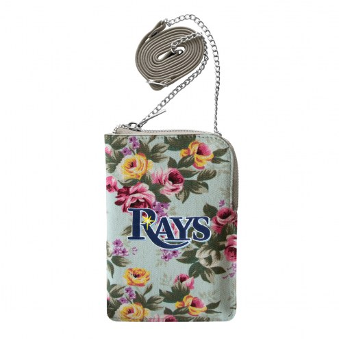 Tampa Bay Rays Canvas Floral Smart Purse