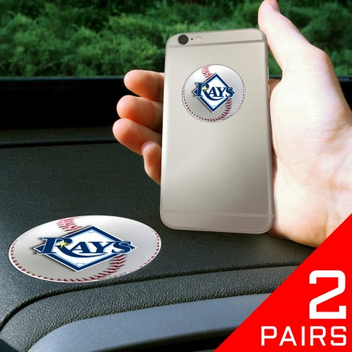 Tampa Bay Rays Cell Phone Grips - 2 Pack