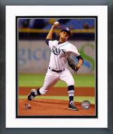 Tampa Bay Rays Chris Archer Action Framed Photo