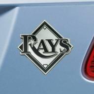 Tampa Bay Rays Chrome Metal Car Emblem