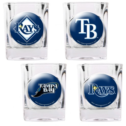 Tampa Bay Rays Collector's Shot Glass Set