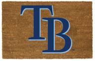 Tampa Bay Rays Colored Logo Door Mat