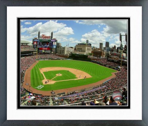 Tampa Bay Rays Comerica Park Framed Photo