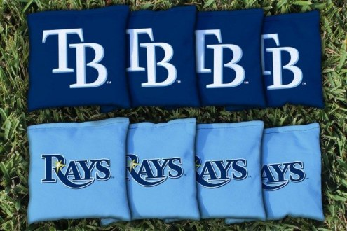 Tampa Bay Rays Cornhole Bag Set