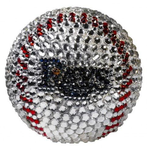 Tampa Bay Rays Swarovski Crystal Baseball