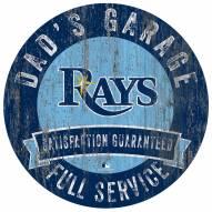 Tampa Bay Rays Dad's Garage Sign